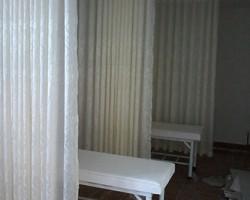 Thi công rèm vải cho khu Spa ở Dương Quảng Hàm, Cầu Giấy, Hà Nội