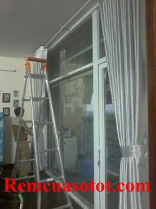 Thi công rèm vải Ô rê cho căn hộ tầng 6, tòa nhà Coma6, Mễ Trì, Từ Liêm, Hà Nội 4