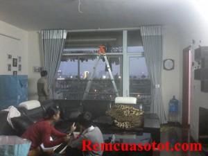 Thi công rèm vải Ô rê cho căn hộ tầng 6, tòa nhà Coma6, Mễ Trì, Từ Liêm, Hà Nội 5