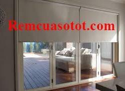 Rèm cuốn cửa chính phòng khách tiện dụng đa năng mã RC 835