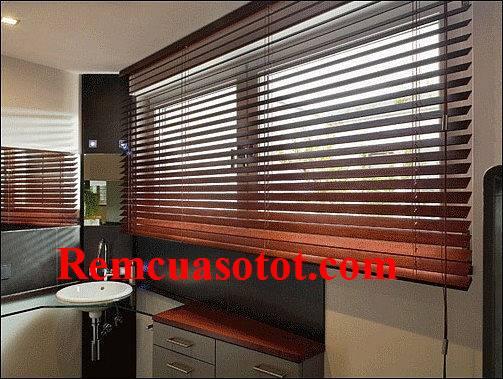 Rèm gỗ cho phòng bếp giúp thúc đẩy vận khí mã RG 129