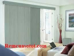 Rèm lá dọc chặn ánh sáng và bơm ánh sáng hiệu quả mã RLD 128