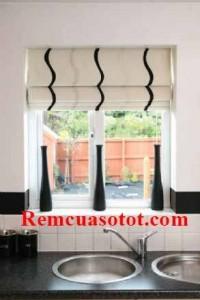 Rèm Roman đẹp tinh gọn tạo điểm nhấn nhẹ nhàng mã RM 842