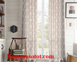 Rèm vải giá rẻ, chất lượng bền đẹp cho gia đình mã RV 859