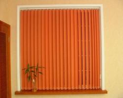 Rèm lá dọc giá rẻ màu cam ấm cúng trẻ trung mã RLD 139