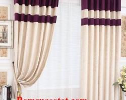 Rèm vải 2 lớp giá rẻ sang trọng quyến rũ mã RV 861