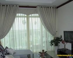 Rèm vải cho cửa sổ sang trọng mã RV 866